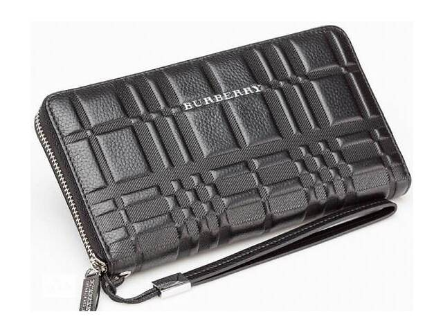 Мужской кожаный клатч Wallet4-2674 черный Реплика- объявление о продаже  в Киеве