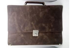 Мужской портфель, сумка для документов, натуральная кожа!