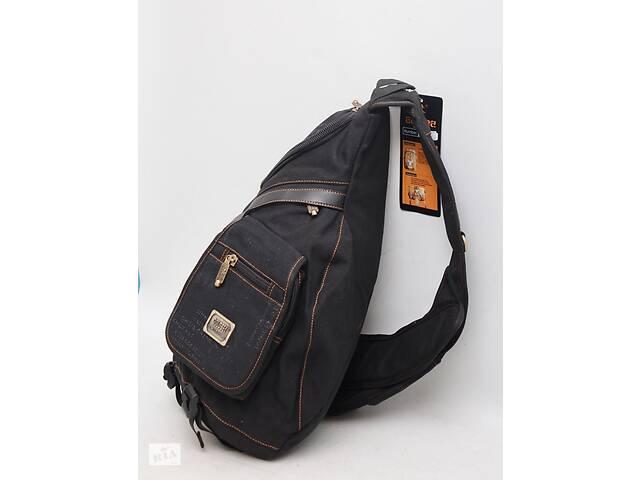 бу Мужской повседневный городской рюкзак через плечо на одну лямку Gold Be / GoldBe в Днепре (Днепропетровск)