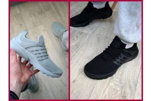 Мужские кроссовки летние чоловічі кросівки літні серые NIKE PRESTO 41-46р