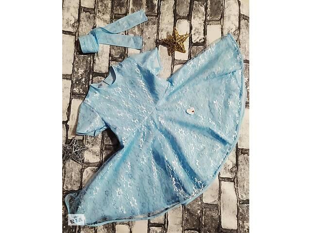 продам Нежное гипюровое платье бу в Сарнах