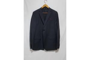 Новый пиджак слим темно-серый тонкая шерсть Manuel Ritz 48-50р б. рост