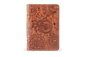 """Обложка-органайзер для ID паспорта / карт, коллекция """"Mehendi Art"""". Цвет глина"""