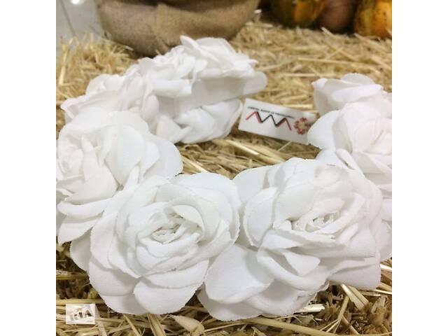 купить бу Ободок Белые розы в Чернигове
