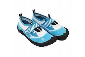 Обувь для пляжа и кораллов (аквашузы) SportVida SV-DN0009-R35 Size 35 Blue/White