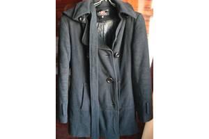 пальто М хлопок, кашемир, тёплое, синее, чёрное, торг