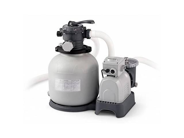 продам Песочный фильтр насос Intex 26648 8000 л/ч бу  в Украине