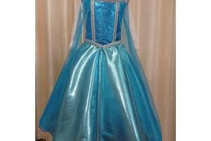 Платье Эльза принцесса снежинка