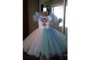 Платье нарядное детское лол разные размеры