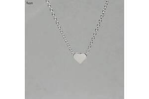 Подарок цепочка сердечко сердце украшение девушке жене маме
