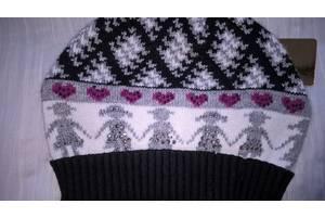 Подростковая шапка плотной вязки