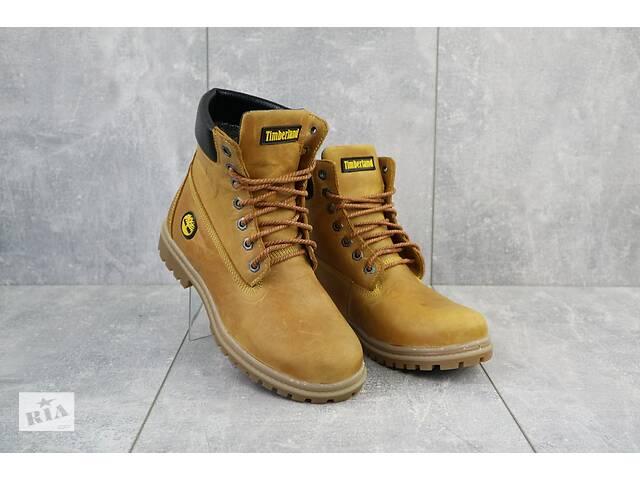 бу Подростковые ботинки кожаные зимние рыжие Brand 205 в Хмельницком