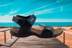 Подростковые сандали PUMA из натуральной кожи