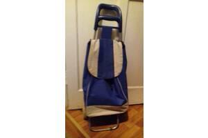Продам б/у хозяйственную сумку-тележку (на колёсах)