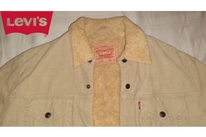 Продам отличную оригинальную куртку-шерпу Levis на овчине, размер XL.