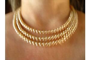 продам ожерелье искусственный жемчуг мелкий