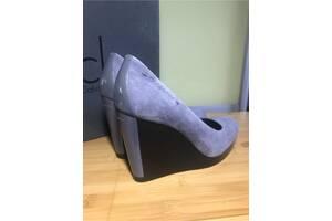 Продам Туфли!!!! Замша Серая,состояние 🔥новые!!! 36 Размер,покупались в Walker.