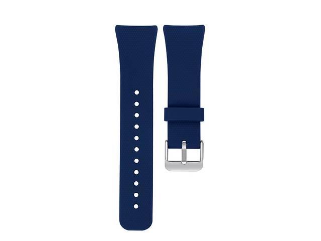 продам Ремешок для часов Silicone bracelet Universal Type С, 22 мм., Dark blue бу в Запорожье