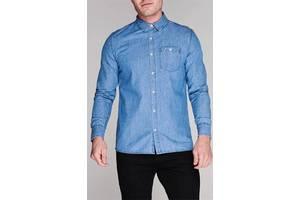 Рубашка джинсовая Kangol M Синяя новая