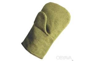Перчатки рабочие брезентовые с второй ладонью