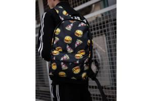 Рюкзак принт burger (Арт. 182)