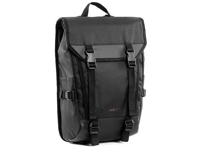 Рюкзак спортивный GIN Форестер стяжка black, черный, 18л- объявление о продаже  в Киеве