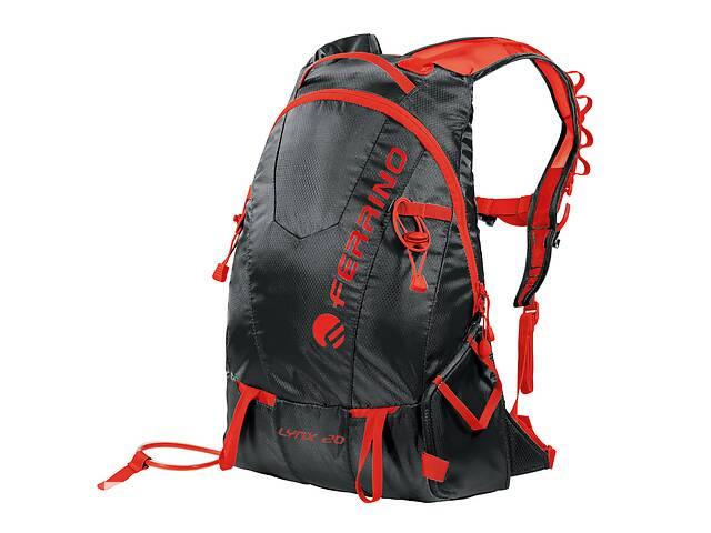 бу Рюкзак туристический Ferrino Lynx 20 Black/Red в Львове