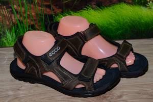 Сандалии кожа натуральная М7 качество ECCO размеры 40 41 42 43 44 45