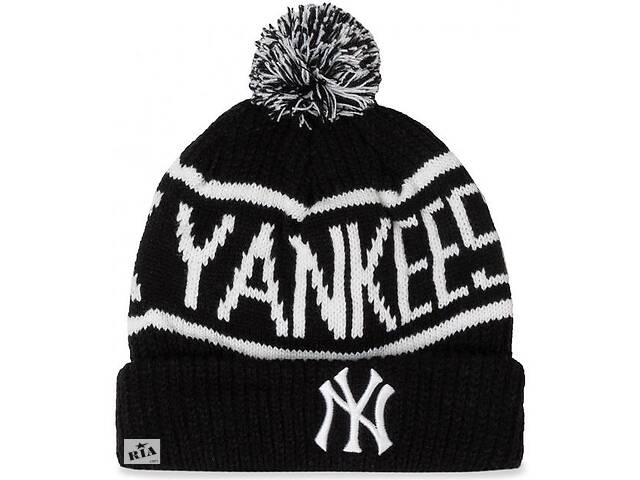 купить бу Шапка 47 Brand Calgary Cuff Knit New York Yan (CGLY17ACEXH-BKB) в Полтаве