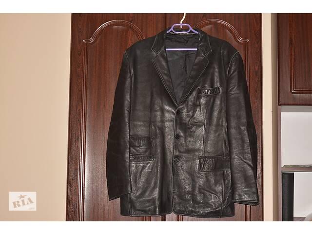 шкіряна куртка- объявление о продаже  в Теребовле