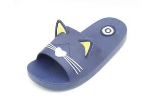 Шлепанцы Plazzo 25-26 18 см Синий (CAT blue 25-26)