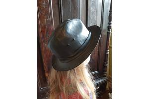 Шляпа кожанная новая дешево 49 грн