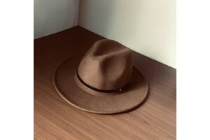 Шляпа из фетра федора
