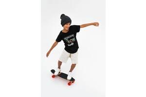 Шорты для мальчика серые (размеры 5-15 лет)