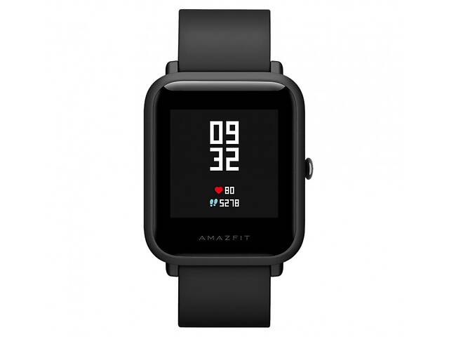 купить бу Смарт-часы Amazfit Bip Lite Black в Харькове