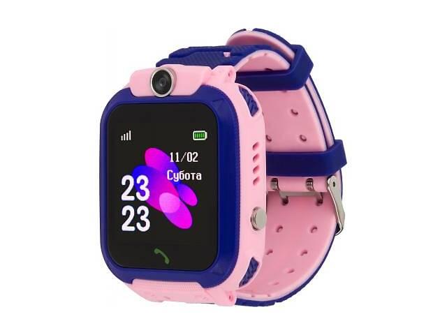 купить бу Смарт-часы AmiGo GO002 Swimming Camera WIFI Pink в Харькове