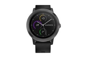 Смарт-часы Garmin Vivoactive 3 Black with Slate Hardware (010-01769-12)