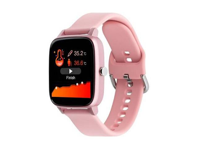 бу Смарт-часы Gelius Pro (IHEALTH 2020) (IP67) Light Pink (Pro(IHEALTH2020)(IP67)LightPink) в Харькове