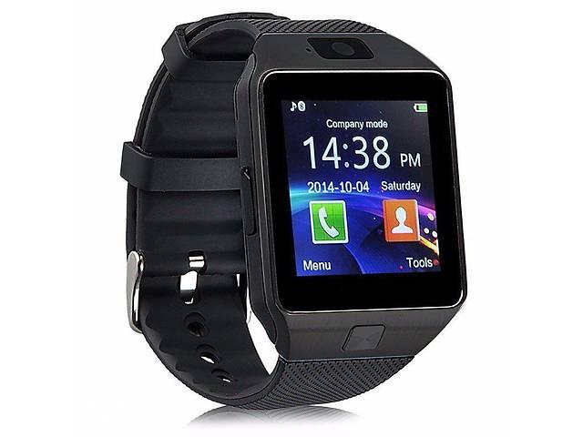 купить бу Смарт-часы Smart Watch DZ09 Black (gr006364) в Киеве