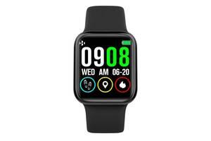 Смарт-часы Smart Watch FINOW Р90 Pro Full Touch с измерением пульса и давления Black (110074IB)