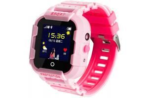 Смарт-часы UWatch KT03 Kid sport smart watch Pink (F_86976)
