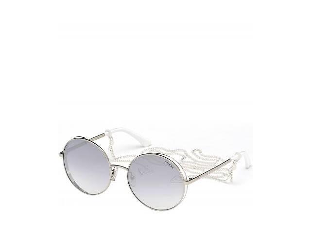 Солнцезащитные очки Guess Очки женские солнцезащитные с градуированными зеркальными линзами GUESS (ГЕС) PGU7606-20C57