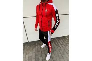 Спортивный костюм Adidas 2021 мужской красный