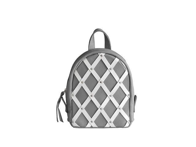 купить бу Стильный женский кожаный рюкзак Baby Archer серый JzzBA23177G в Киеве