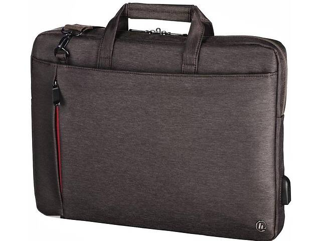 купить бу Сумка для ноутбука Hama Manchester Notebook Bag коричневый в Киеве