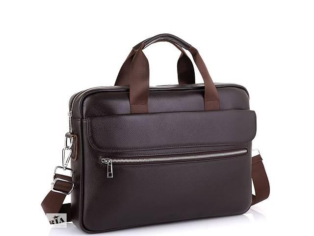 бу Сумка для ноутбука кожаная мужская Tiding Bag A25-1127C в Киеве