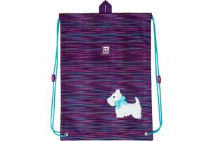 Сумка для обуви Kite Education Cute puppy фиолетовый