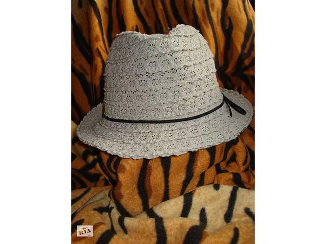 Супер шляпка цвета кофе с молоком 57см.летняя,в кружевах.- объявление о продаже  в Киеве
