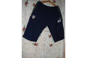 """Супер шорты-бриджи синего цвета""""puma"""",полиэстер,xxl."""