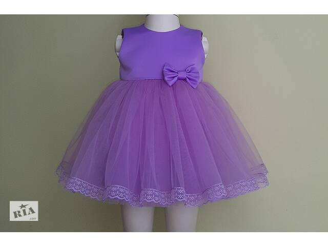 купить бу Праздничное платье для самых маленьких, лавандового цвета, модель № 107 в Хмельницком